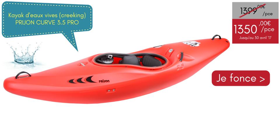 PROMO kayak PRIJON CURVE 3.5 PRO