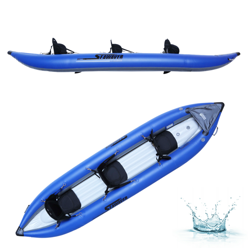 KAYAK GONFLABLE AQUADESIGN SEAWAVER 3