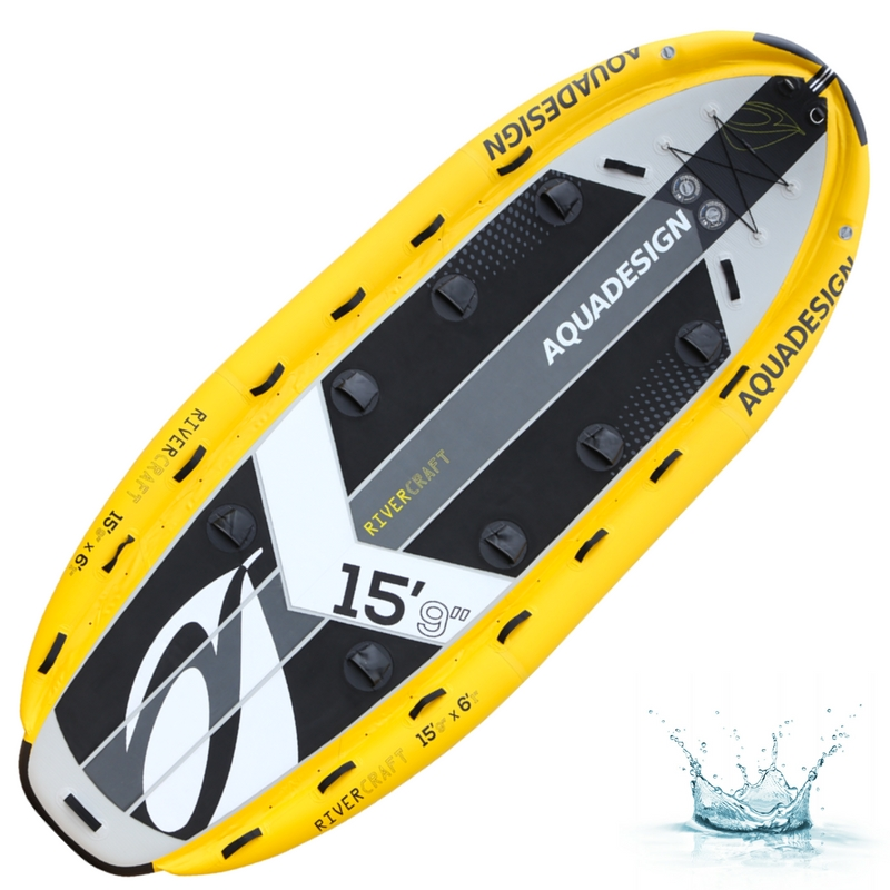 PLANCHE DE STAND UP PADDLE (SUP) GONFLABLE RIVER CRAFT 15\'9