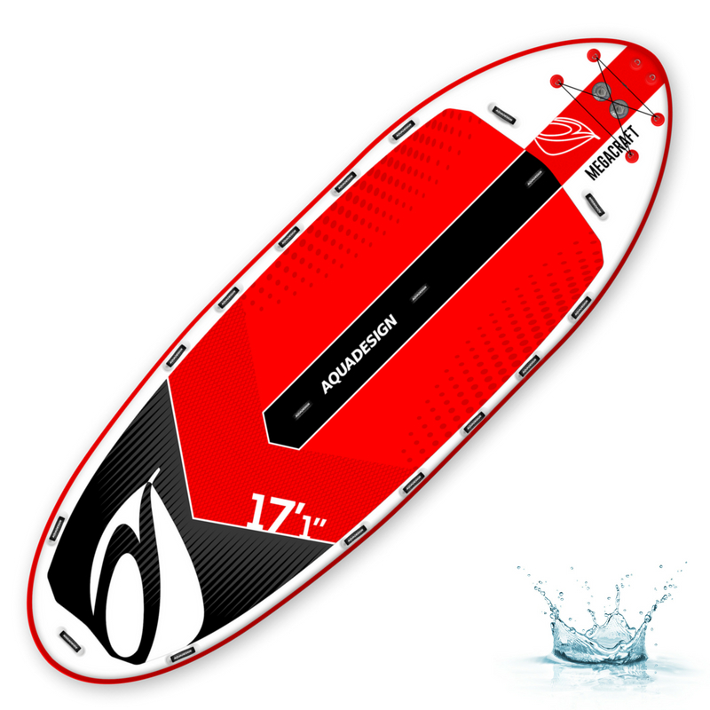 PLANCHE DE STAND UP PADDLE (SUP) GONFLABLE AQUADESIGN MEGACRAFT 17\'1\'\'