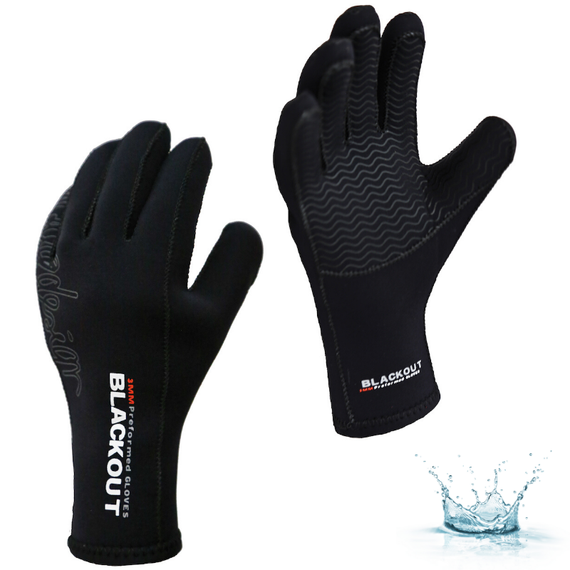 GANTS AQUADESIGN BLACKOUT 3,0 MM