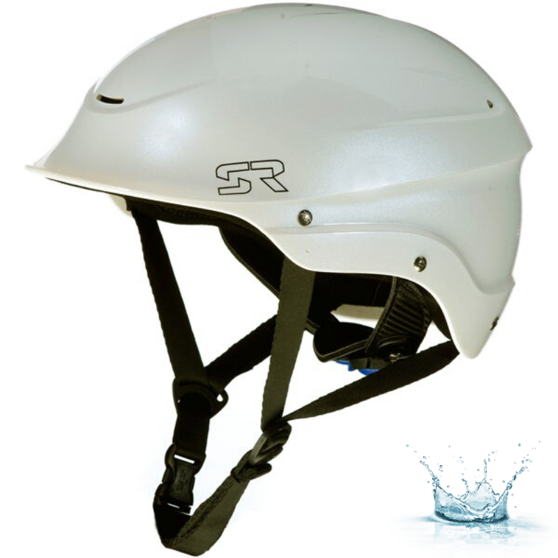CASQUE D\'EAUX VIVES SHRED READY STANDARD HALFCUT - PEARL WHITE