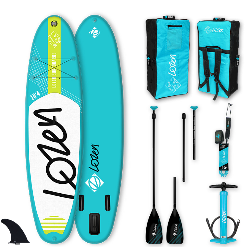 PACK SUP GONFLABLE LOZEN 10\'4 BLUELINE