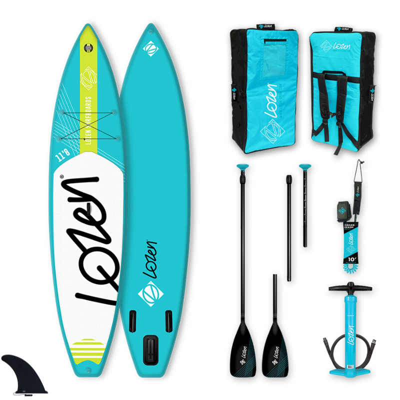 PACK SUP GONFLABLE LOZEN 11\'8 BLUE LINE