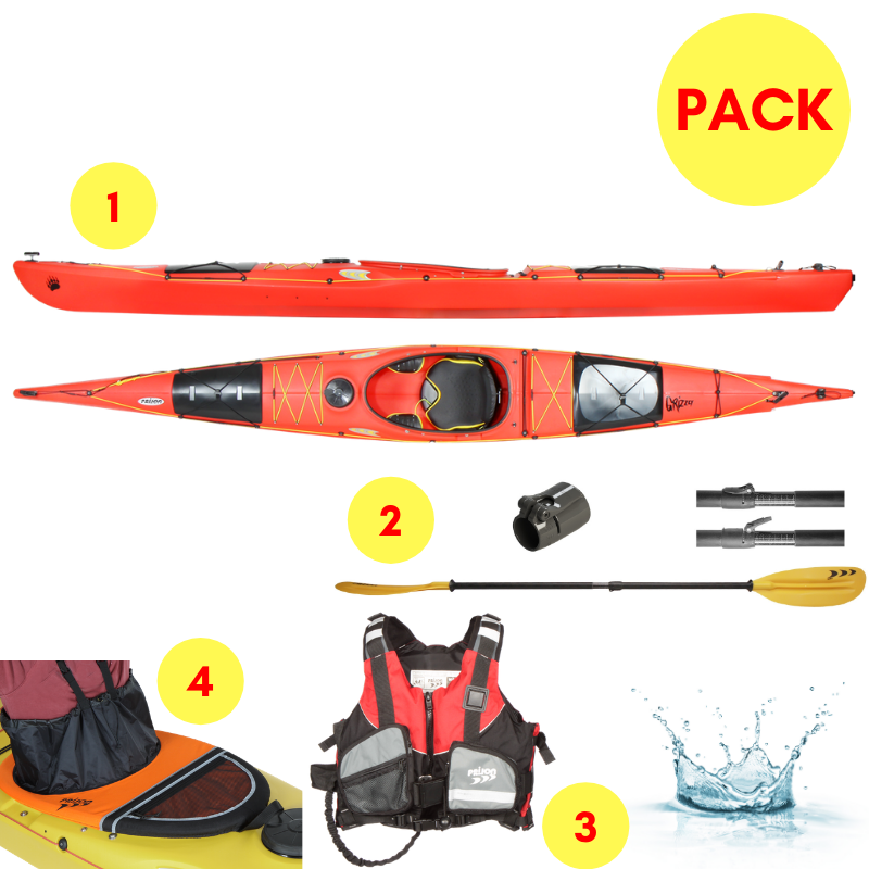 PACK KAYAK PRIJON GRIZZLY