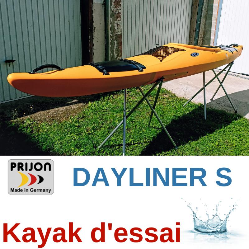 KAYAK DE RANDONNEE PRIJON DAYLINER S JAUNE (KAYAK D\'ESSAI)