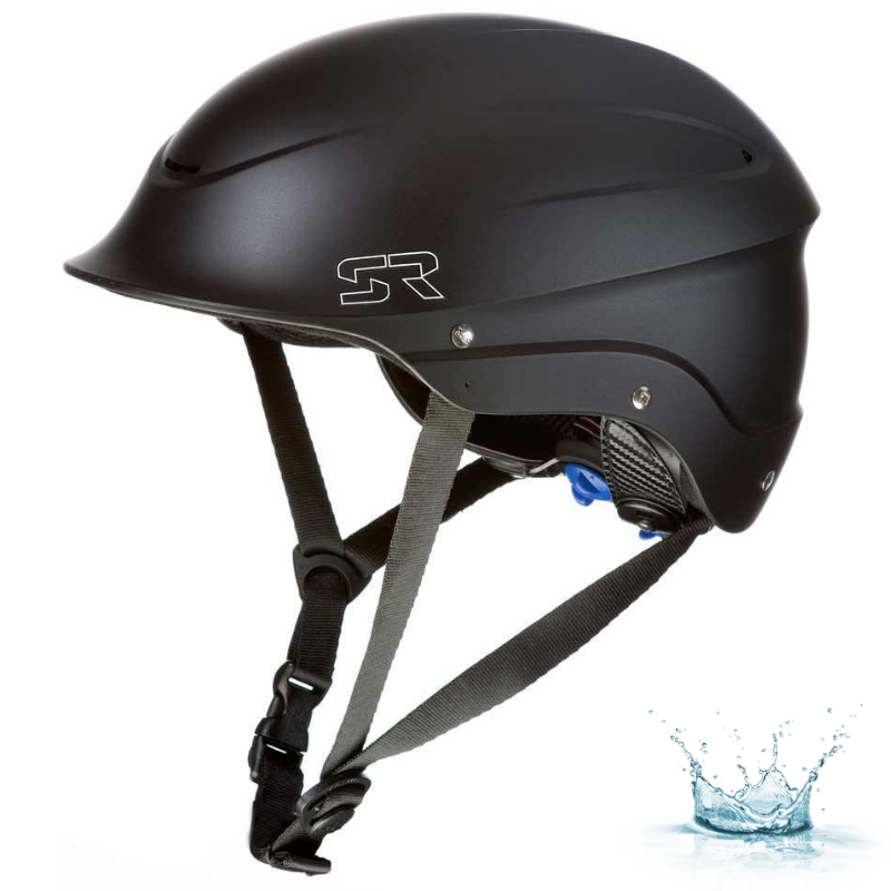 CASQUE D\'EAUX VIVES SHRED READY STANDARD HALFCUT - BLACK