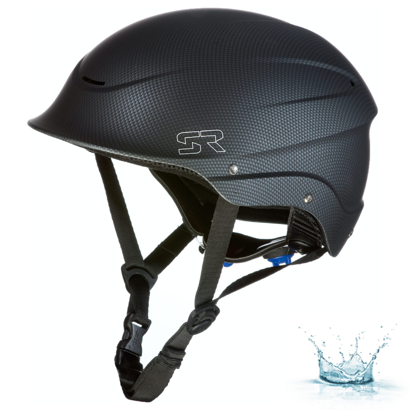 CASQUE D\'EAUX VIVES SHRED READY STANDARD HALFCUT - CARBON BLACK