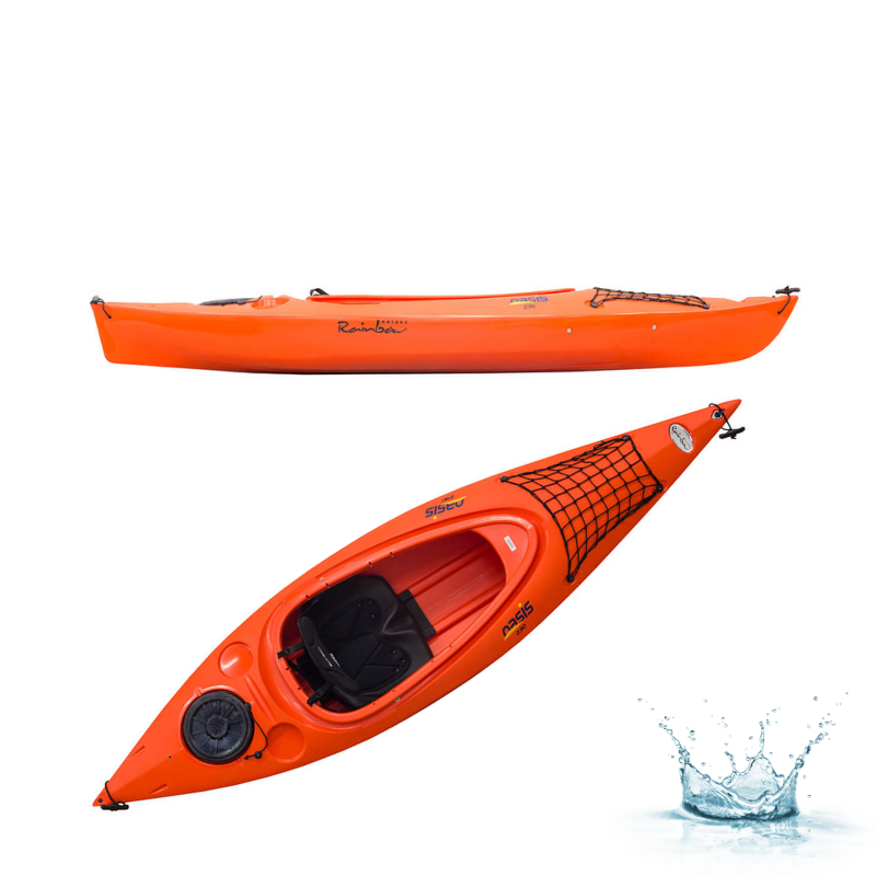 KAYAK DE RANDONNEE RAINBOW KAYAKS OASIS 2.90 EXPEDITION