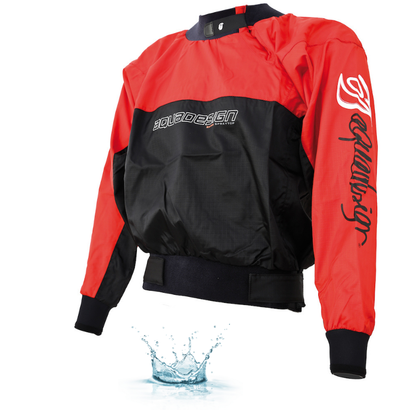 ANORAK AQUADESIGN RACING ROUGE