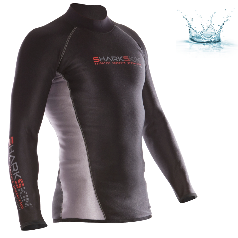 TOP MANCHES LONGUES SHARKSKIN CHILLPROOF - COUPE HOMME