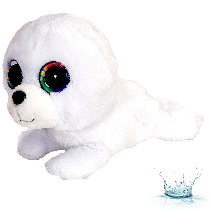 PELUCHE LITTLE SWEET & SASSY BEBE PHOQUE