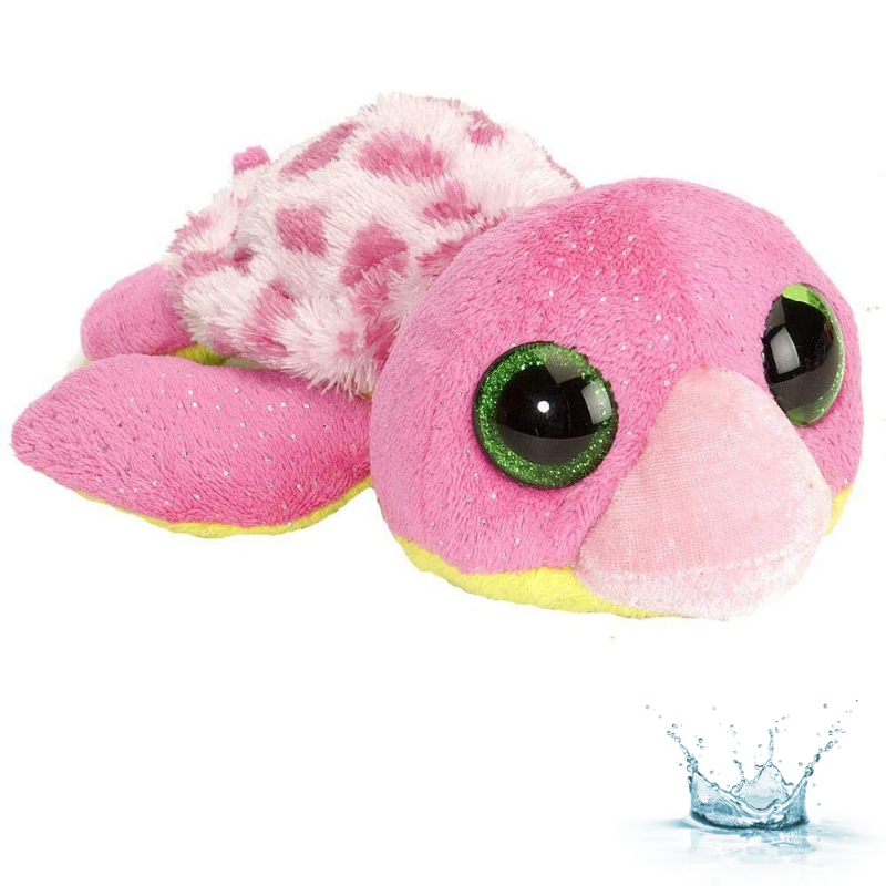 PELUCHE LITTLE SWEET & SASSY TORTUE ROSE