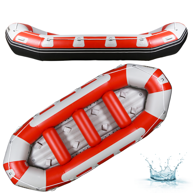 RAFT AQUADESIGN AVANTI 420 - ROUGE/GRIS