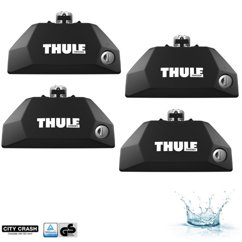 4 PIEDS DE FIXATION THULE EVO FLUSH RAIL