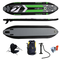 PACK AQUADESIGN STAND UP PADDLE GONFLABLE S.U.K.12'