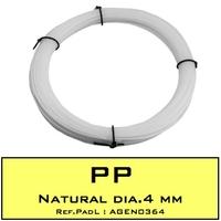 FIL DE SOUDURE EN POLYPROPYLENE (PP) ROND DIA.4 MM