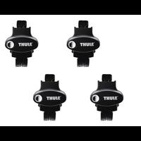 4 PIEDS DE FIXATION THULE RAPID CROSSROAD 775 POUR VOITURES DOTEES DE RAILS
