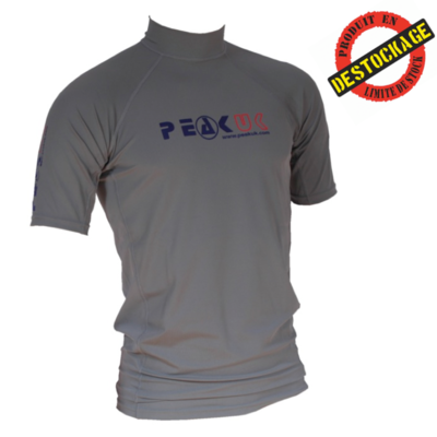 TOP LYCRA MANCHES COURTES PEAK UK XS