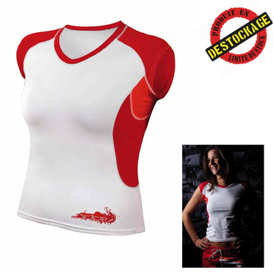 RASH GUARD JOBE LADIES FIRST RED TAILLE S