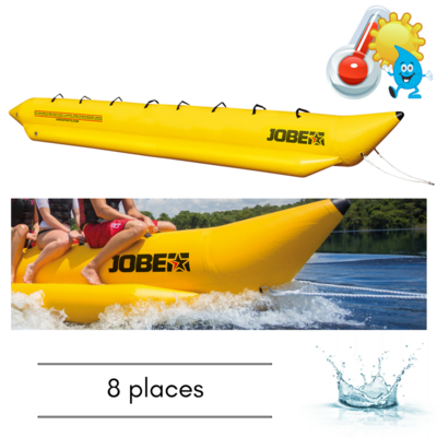 BOUEE TRACTABLE JOBE WATERSLED 8 PERSONNES