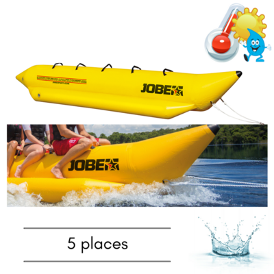 BOUEE TRACTABLE JOBE WATERSLED 5 PERSONNES