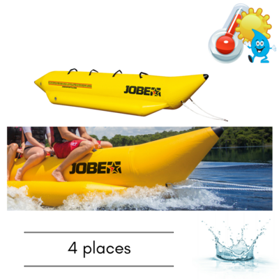 BOUEE TRACTABLE JOBE WATERSLED 4 PERSONNES