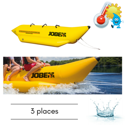 BOUEE TRACTABLE JOBE WATERSLED 3 PERSONNES