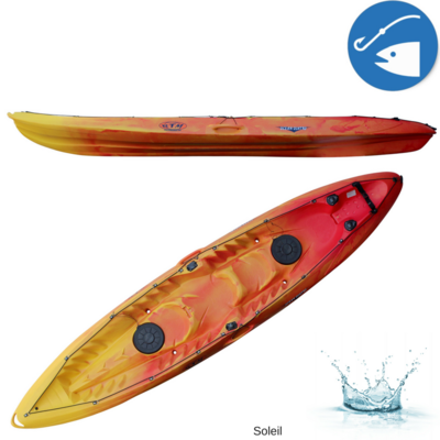 KAYAK SIT-ON-TOP RTM FISHING OCEAN QUATRO PECHE