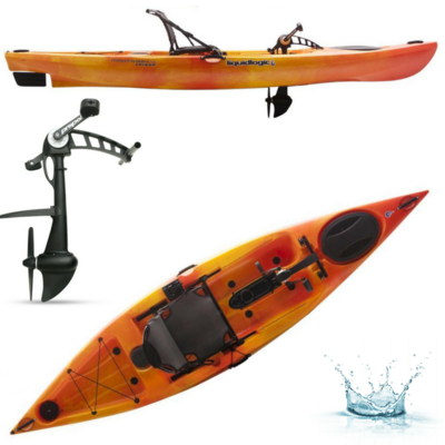KAYAK A PEDALES LIQUIDLOGIC MANTA RAY PROPEL 12