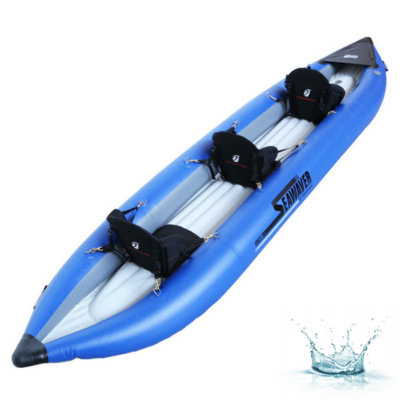 KAYAK GONFLABLE 3 PLACES AQUADESIGN SEAWEAVER 400