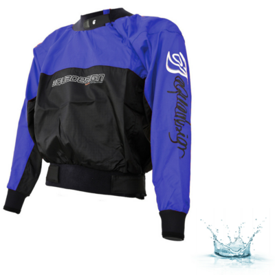 ANORAK AQUADESIGN RACING BLEU