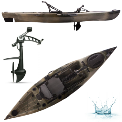 KAYAK A PEDALES NATIVE WATERCRAFT MANTA RAY PROPEL ANGLER 12
