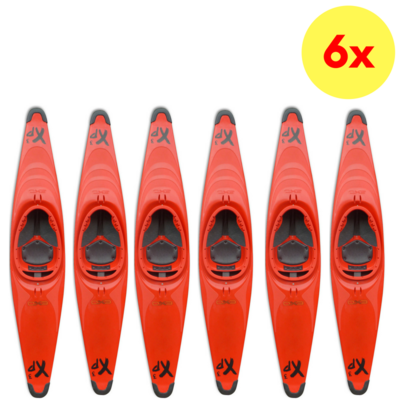 LOT DE 6 KAYAKS POLO EXO XP3 (PE)