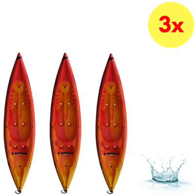 LOT DE 3 KAYAKS SIT-ON-TOP DAG TAIKI PRO