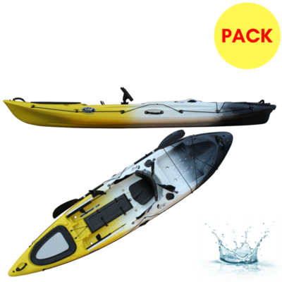 PACK KAYAK DE PECHE RTM FISHING ABACO 3.60 BIG BANG