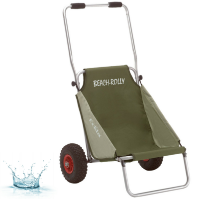 CHARIOT-SIÈGE ECKLA BEACH-ROLLY VERT OLIVE