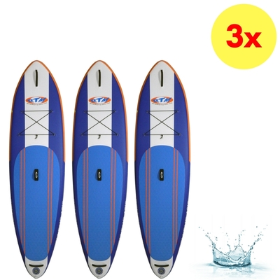 LOT DE 3 PLANCHES DE SUP GONFLABLES RTM KAYAKS 10'6