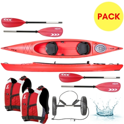 PACK KAYAK BIPLACE DUO RELAX