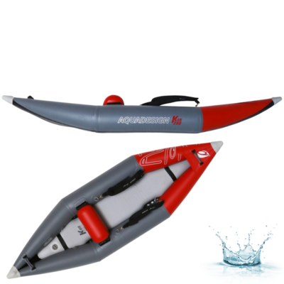 KAYAK GONFLABLE D'EAUX VIVES AQUADESIGN TWIKI