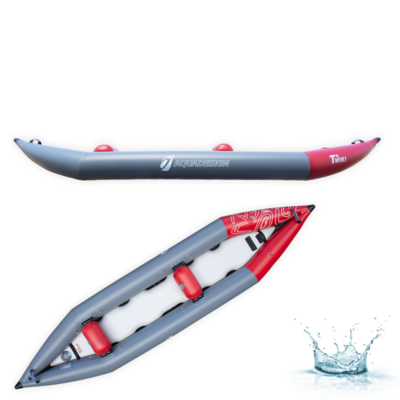 KAYAK GONFLABLE D'EAUX VIVES AQUADESIGN TWIKI 2