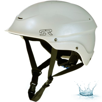CASQUE D'EAUX VIVES SHRED READY STANDARD HALFCUT - PEARL WHITE