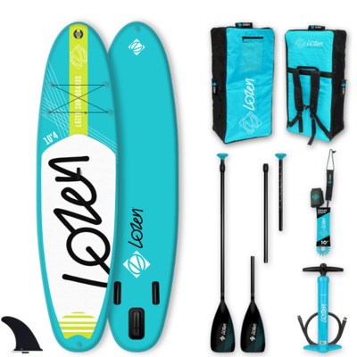PACK SUP GONFLABLE LOZEN 10'4 BLUELINE