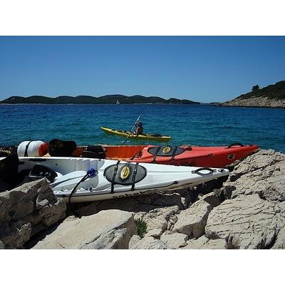 Kayak de mer sit on top dag midway luxe pack padl - Kayak de mer 2 places ...