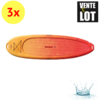 LOT DE 3 PLANCHES DE STAND UP PADDLE (SUP) PE 10'
