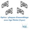 FICHE-ACCA0027-KSC-CALE-PIEDS KS FLEX-JOINT STEERING SYSTEM, S (PAIRE DE)  (4)