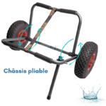 TGEN0347-ORCKA-CHARIOT DE PORTAGE 1260-CHASSIS-PLIABLE