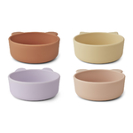 LW14153 - Iggy silicone bowls - 4 pack - 9410 Light lavender multi mix - Extra 1