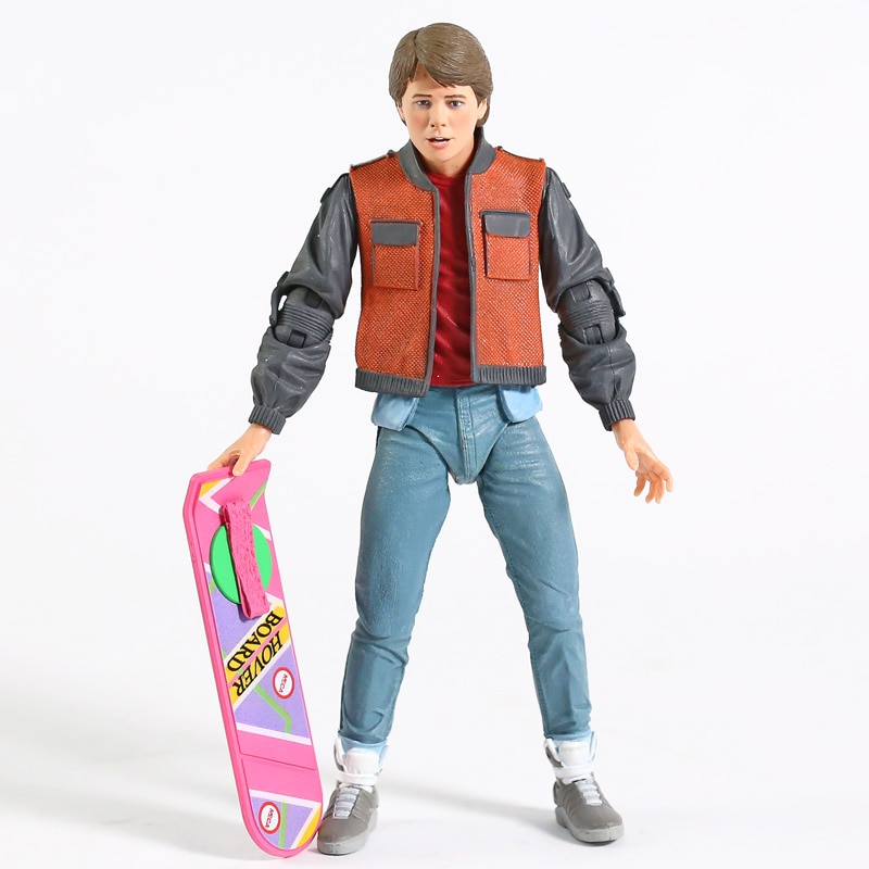 Figurine Marty Mc Fly et Biff - Back to the future(retour vers le futur)