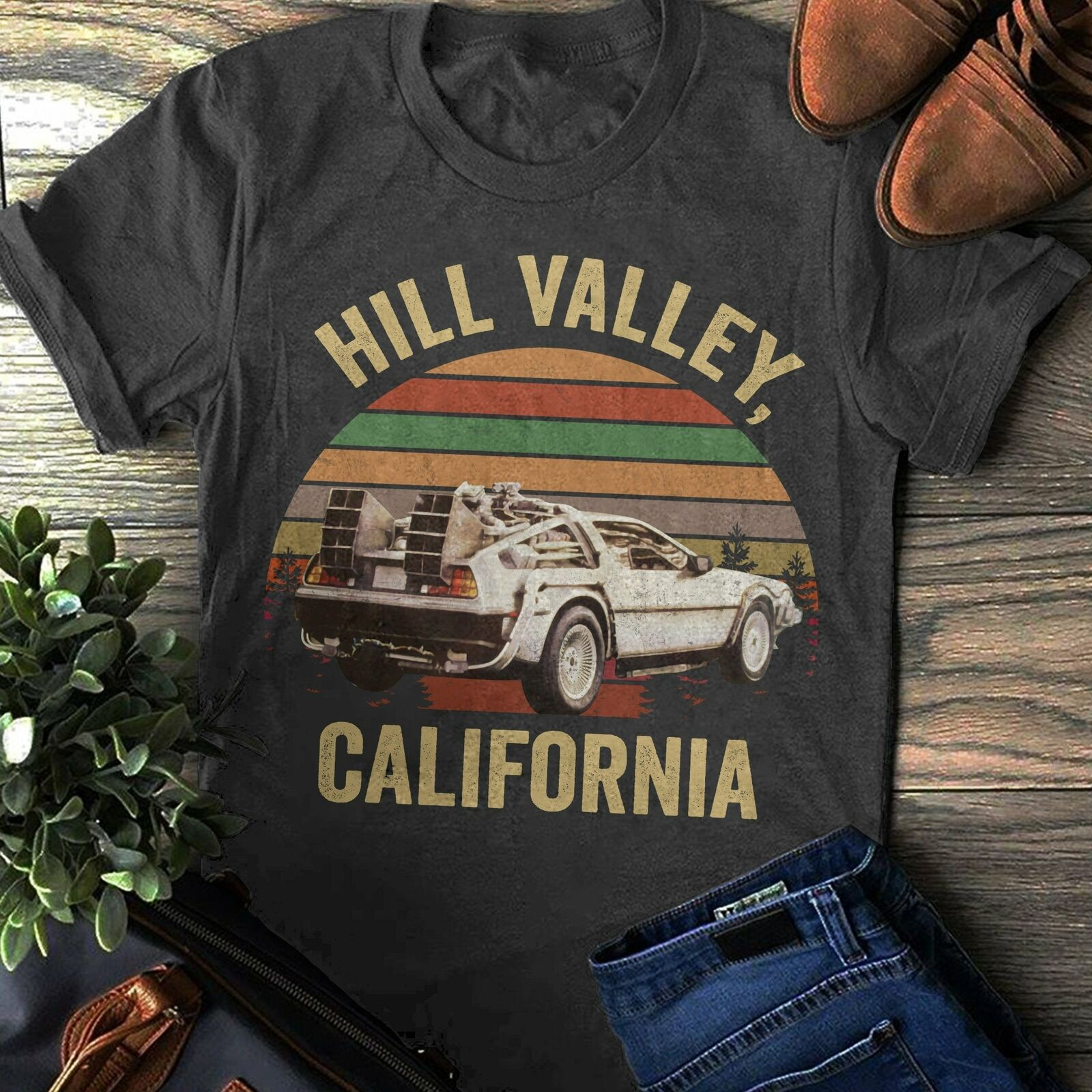 T-shirt HILL VALLEY - Back To the Futur(Retour vers le futur)